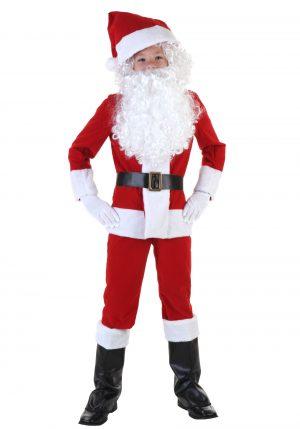 Fantasia infantil Papai Noel- Boys Santa Costume