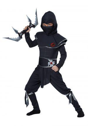 Fantasia  infantil de guerreiro ninja – Boys Ninja Warrior Costume