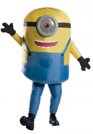 Fantasia  inflável de Minion – Minion Inflatable Adult Costume