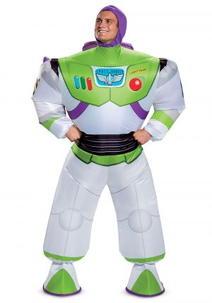 Fantasia inflável Toy Story Buzz Lightyear -Disney Toy Story Buzz Lightyear Inflatable Adult Costume