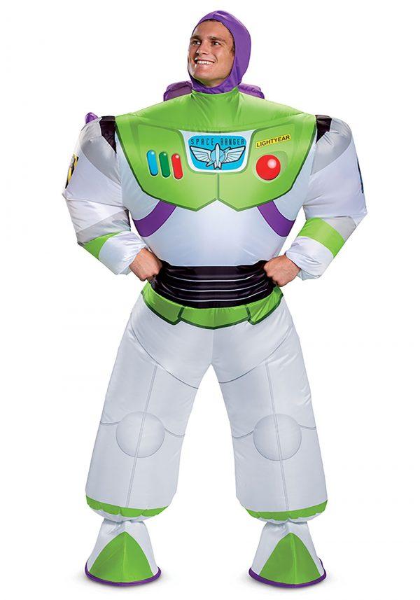 Fantasia inflável Toy Story Buzz Lightyear -Disney Toy Story Buzz Lightyear Inflatable Adult Costume