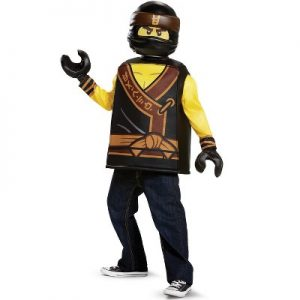 Fantasia Cole Ninjago Lego Infantil Filme Luxo- Ninjago Cole Movie Classic Child Costume