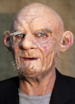 """Máscara """"Ludwig"""" de silicone feita à mão realista"""