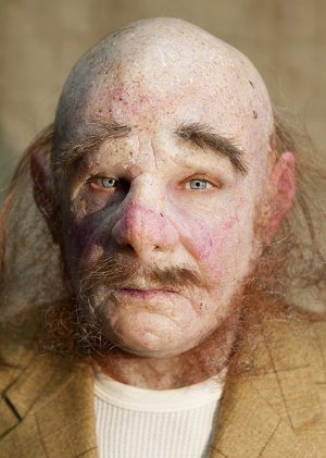 "Máscara ""Moris"" de silicone feita à mão realista por The Masker"