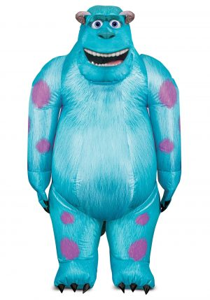 Fantasia inflável Adulto Monstros S.A Sulley- Adult's Monsters Inc Sulley Inflatable Costume