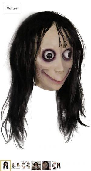 Mascara assustadora  realista MOMO