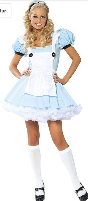 Fantasia Adulto Alice no País das Maravilhas