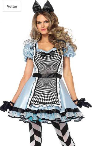 Fantasia hipnótica  Alice no país das maravilhas para mulheres