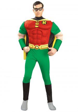 Fantasia Adulto Robin – Adult Robin Muscle Costume