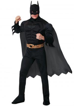 Fantasia Adulto  Batman Dark -Adult Deluxe Dark Knight Batman Costume