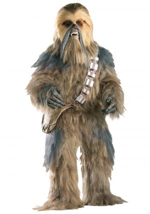 Fantasia masculino réplica autêntica-Star Wars, Chewbacca