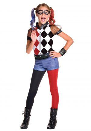 Fantasia Infantil Harley Quinn/Alerquina – DC Superhero Girls Deluxe Harley Quinn Costume