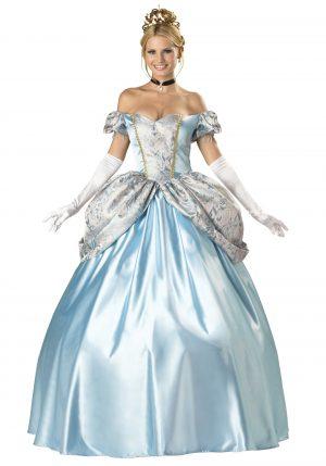 Fantasia Adulto Princesa Cinderela – Elite Enchanting Princess Costume