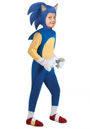 Fantasia infantil Sonic  – Child Deluxe Sonic Costume