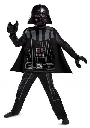 Fantasia Infantil Darth Vader Star Wars  -Lego Star Wars Boy's Deluxe Lego Darth Vader Costume