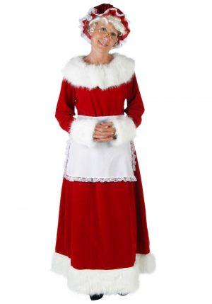 Fantasia mamãe Noel -Women's Deluxe Mrs Claus Costume