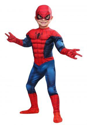 Fantasia de criança de HOMEM ARANHA – Marvel Spider-Man Toddler Costume
