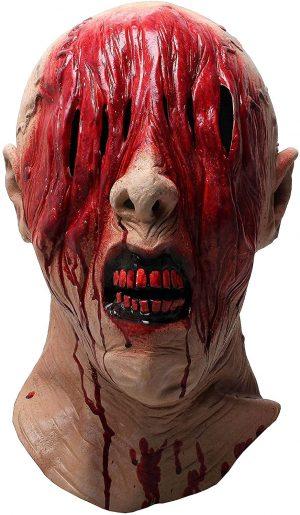 Máscara realista  de zumbi para Halloween