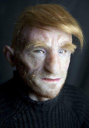 "Máscara de silicone feita à mão realista ""Antonio"" por The Masker"