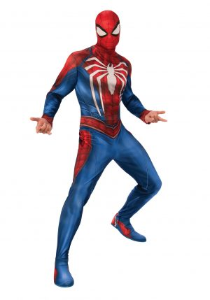 Fantasia Adulto Spider Man/Homem-Aranha -Spider-Man Gamer Verse Adult Costume