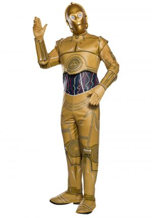Fantasia  adulto de Star Wars C-3PO – Star Wars C-3PO Adult Costume