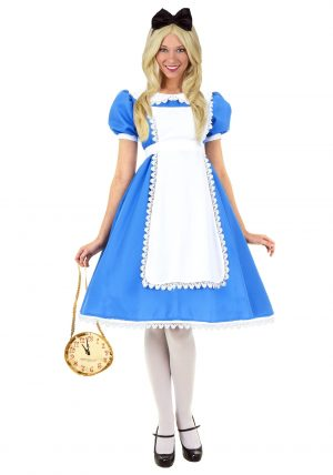 Fantasia Alice no pais das Maravilhas – Adult Supreme Alice Costume