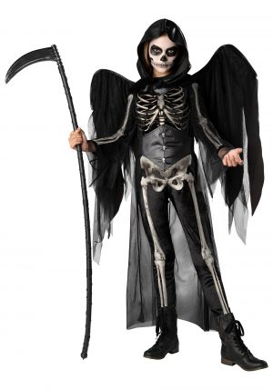 Fantasia Anjo da Morte – Tween Angel of Death Costume