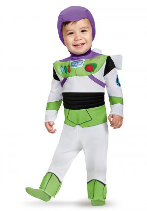 Fantasia  Buzz Lightyear para bebe -Deluxe Buzz Lightyear Infant Costume