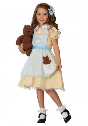 Fantasia Cachinhos Dourados – Goldilocks Toddler Girls Costume