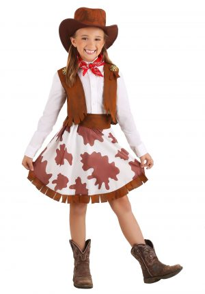 Fantasia Cowgirl  infantil -Girls Sweetheart Cowgirl Costume