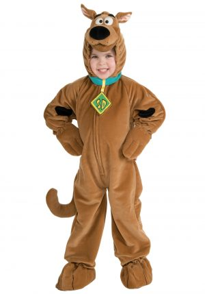 Fantasia Criança Scooby Doo-Child Deluxe Scooby Doo Costume