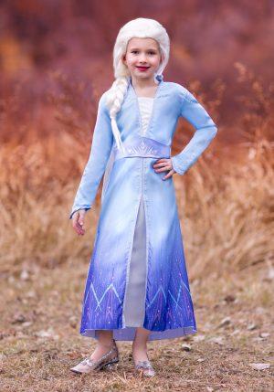 Fantasia Frozen 2 – Frozen 2 Girls Elsa Prestige Costume