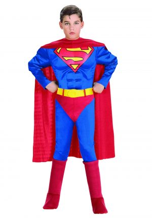 Fantasia  Kids Deluxe Superman -Kids Deluxe Superman Costume