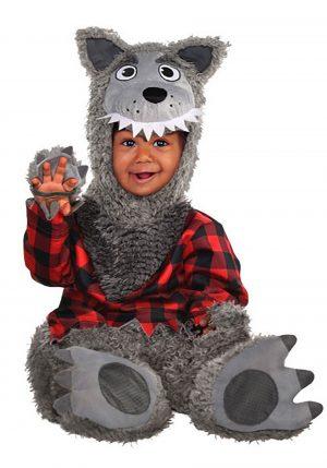 Fantasia Lobisomem para bebe – Grey Werewolf for Infants