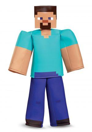 Fantasia Minecraft Steve – Traje Minecraft Steve Prestige Boys