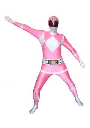 Fantasia Power Rangers Rosa – Power Rangers: Pink Ranger Morphsuit Costume
