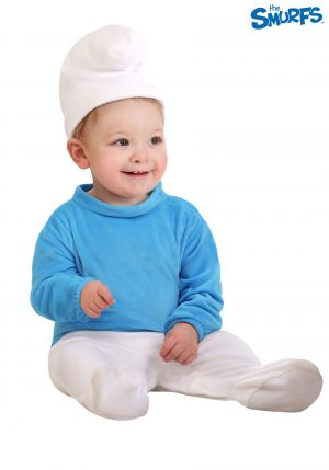 Fantasia Smurf para bebe – The Smurfs Infant Costume