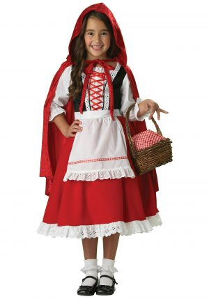 Fantasia  Tradicional Chapeuzinho Vermelho -Traditional Little Red Riding Hood Costume