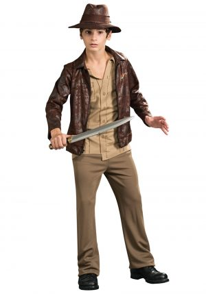 Fantasia adolescente de luxo Indiana Jones – Teen Deluxe Indiana Jones Costume