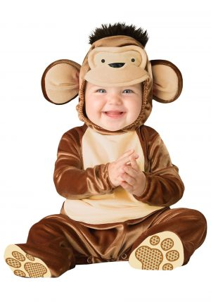 Fantasia bebe de macaquinho travesso -Infant Mischievous Monkey Costume