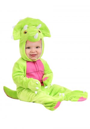 Fantasia bebe de triceratops  – Infant Tiny Triceratops Costume