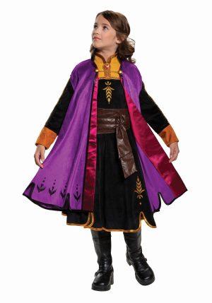 Fantasia de Anna Frozen 2 – Girls Anna Frozen 2 Prestige Costume