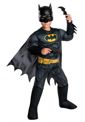 Fantasia de Batman DC Comics para crianças-DC Comics Deluxe Batman Costume for Kids
