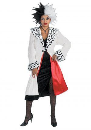 Fantasia de  Cruella para adultos – Prestige Adult Cruella De Vil Costume
