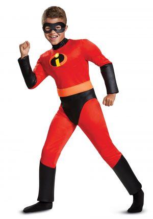 Fantasia de Disney os Incríveis 2 – Disney Incredibles 2 Classic Dash Muscle Boys Costume