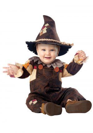 Fantasia de Espantalho para bebe- Happy Harvest Scarecrow Costume for Infants