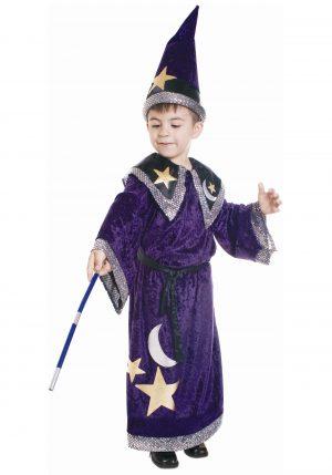 Fantasia de Feiticeiro mágico infantil – Kids Magic Wizard Costume