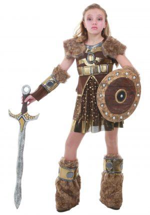 Fantasia de Gerreira Viking pra Adolescentes – Tween Hildagaard Viking Costume