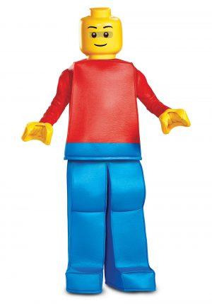 Fantasia de Lego Infantil – Lego Prestige Boys Lego Guy Costume