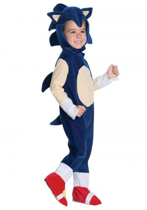 Fantasia de Macacão de Sonic – Sonic the Hedgehog Romper Costume